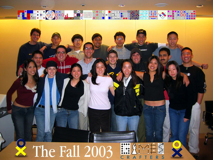The Fall 2003 GamesCrafters